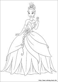 disney coloring pages princess tianakids coloring pages