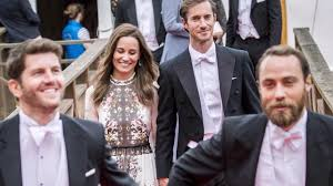 newlyweds pippa middleton and james matthews attended a friend u0027s