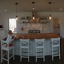 Off White Kitchen Cabinets by This Kitchen Features Three Benjamin Moore Paint Colors Gray