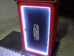 2x12 Guitar Cabinet Diy Homemade 2x12 Guitar Cabinet With Led U0026 3u Flight Case Youtube