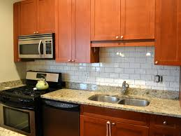 Easy Backsplash Kitchen by Interior Wonderful White Kitchen With Subway Tile Backsplash