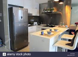 kitchen cabinet modern design malaysia interior of modern kitchen in an apartment in kuala lumpur