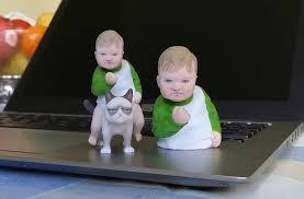 Third World Success Kid Meme - success kid on grumpy cat 3d print meme cgtrader