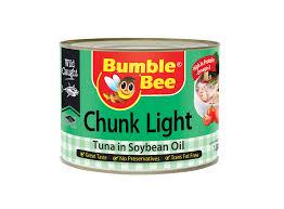bumble bee chunk light tuna bumble bee chunk light tuna in soy bean oil scanpap asia pacific