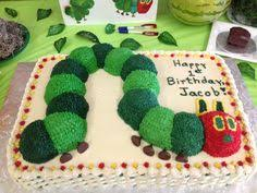 very hungry caterpillar cake what a smart idea save for later in