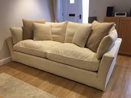 large sofa workshop cream