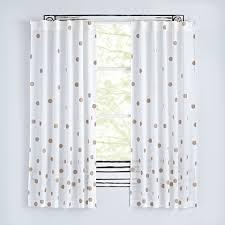 Nursery Curtains Curtains Bedroom Nursery The Land Of Nod Curtain Bronze Dots