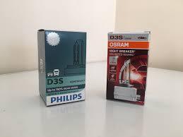 xenon bulbs review oem vs philips vs osram