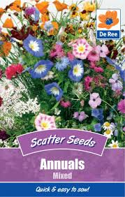 Wonderful Gardens De Ree Scatter Flower Seeds For Wonderful Gardens And Borders Ebay