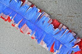 paper decorations vintage yot patriotic crepe paper decorations yesterday on tuesday
