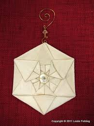 everyday artist silk origami ornaments