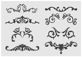 western flourish free vector 767 free downloads