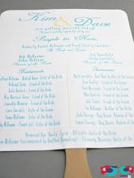 how to make a wedding program a and cool summer wedding program tutorial the nerds