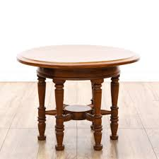 antique spindle leg side table this end table is featured in a solid wood with a glossy cherry