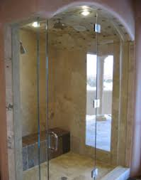 curved glass shower door frameless showers ideal mirror and glass