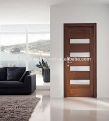 Modern Bathroom Doors Best Chic Wood Glass Door Design Wood Glass Door D 12558