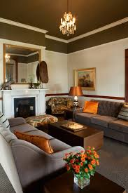 Creative Living Room by Living Room Brown And Orange Design Pictures Remodel Decor And