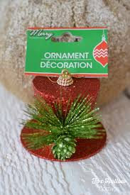 how to turn a dollar tree ornament into frosty s vintage