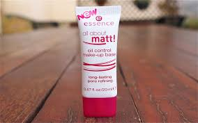 born to buy essence all about matt oil control make up base review
