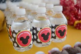 mickey mouse baby shower decorations mickey mouse baby shower favors style by modernstork