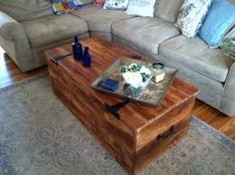 wood shipping crate coffee table by reclaimedbychuck on etsy