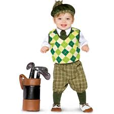 Infant Toddler Tiger Costume Toddler Golf Costume Baby Golfer Costume