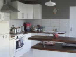 peinture grise cuisine photo deco cuisine peinture taupe par deco