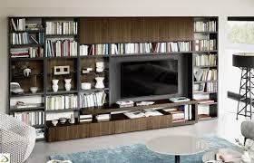 arredo librerie gallery of parete libreria soggiorno di design agel arredo design
