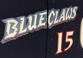 cool claws authentic bellport blue claws majestic cool base jersey