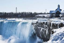 niagara falls freezes u2026 cbs cleveland