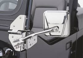 jeep wrangler mirrors rage jeep wrangler stainless steel side mirrors autotrucktoys com