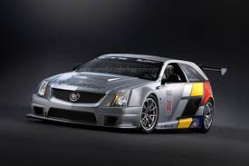 cadillac cts v sport wagon race car photo gallery autoblog