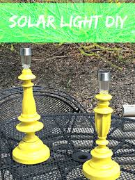 Solar Lighting For Gardens by Happy House And Home Turn Solar Lights Into Garden Lamps
