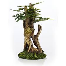 classic aquatics aquarium ornaments bonsai mini multi coloured at