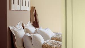 use soft neutrals for a calm bedroom dulux