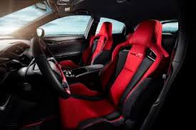 inside of a honda civic 2017 honda civic type r interior photos pictures 2017