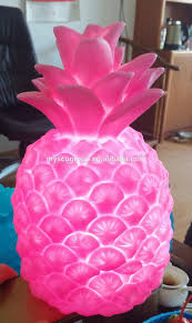 pineapple light multi color contemporary led colour changing
