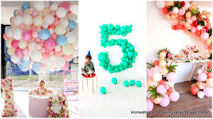 Wall Decoration With Balloons by 35 Simply Splendid Diy Balloon Decorations For Your Celebration