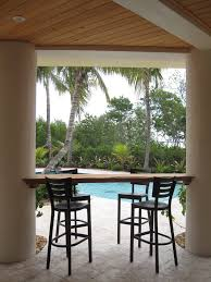 beach bar design ideas patio tropical with tongue and groove