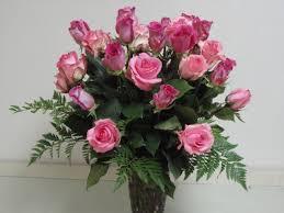3 dozen roses 3 dozen pink roses in wapakoneta oh haehn florist greenhouses
