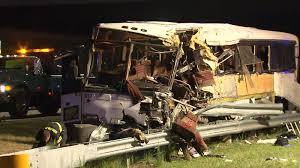 North Carolina travel bus images Football team bus crashes in north carolina 4 dead cnn jpg