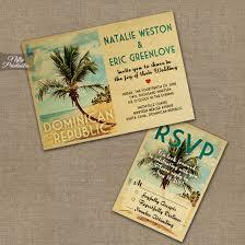 dominican republic wedding invitations beach vtw nifty printables