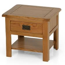 Side Table With Shelves Wooden Side Tables Home Design Ideas