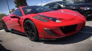 Ferrari 458 Body Kit - 590 hp mansory ferrari 458 spider siracusa extreme and rare