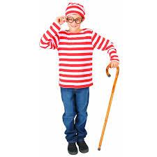 where s waldo costume limited child where s waldo classic storybook character