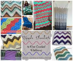 keepsake blankets ripple blankets pattern collection cre8tion crochet