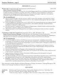 Pmo Manager Resume Sample Cover Letter Sample Administrative Management Resume Sample
