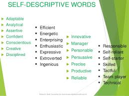 Self Descriptive Words For Resume Casd Senior Class Workshop On Career Guidance U0026 Counselling Kojo Ahi U2026