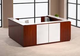 Esquire Glass Top Reception Desk How Should Reception Desk Furniture Look Like U2013 Furniture Depot