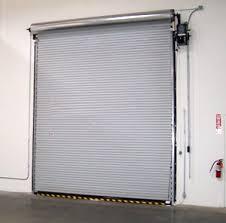 Overhead Roll Up Door Rolling Steel Service Doors Roll Up Commercial Doors